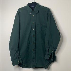 Nautica Green Button Down Shirt